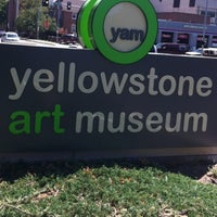 Photo taken at Yellowstone Art Museum by James G. L. on 7/25/2012