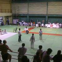 Photo taken at Shahaji Raje Krida Sankul (Andheri Sports Complex) by Anirban B. on 8/28/2011