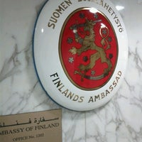 Photo taken at Embassy of Finland by John on 12/11/2011