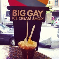 Photo taken at Big Gay Ice Cream Shop by Dan P. on 5/3/2012