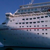 Photo taken at Carnival Cruise Paradise by Deztini C. on 9/16/2011