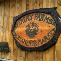 Photo taken at FireFly Farms Creamery & Market by Heidi M. on 4/4/2012
