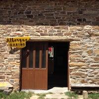 Photo taken at El Ganso Albergue Gabino by Luke M. on 5/24/2012