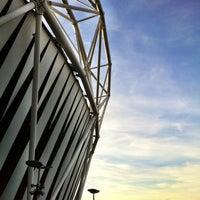 Photo taken at London Stadium by Jason A. on 9/6/2012