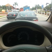 Photo taken at Traffic light seberang marang by Fadhilah Z. on 8/25/2012
