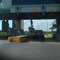 Photo taken at Toll Plaza 1 by Brian S. on 8/22/2011