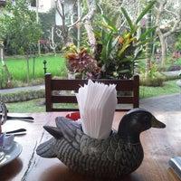 Photo taken at Bebek Bengil (Dirty Duck Diner) by MyCarolina on 9/9/2012