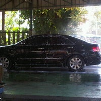 Photo taken at Super Pro Car Care Center by Yossapong W. on 1/7/2012