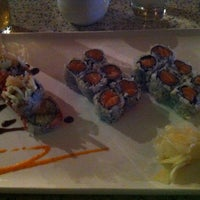 Photo taken at Mizu Japanese & Thai Cuisine by Andrew T. on 9/6/2012