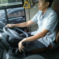 Photo taken at Bus Shelter SCBD by ★Melanie ★. on 2/15/2012