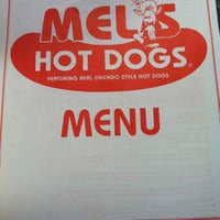 Photo taken at Mel's Hot Dogs by Stephanie E. on 7/14/2012