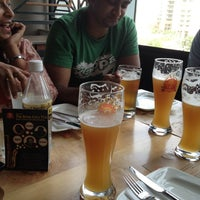 Photo taken at 7 Degrees Brauhaus by Arun A. on 6/17/2012