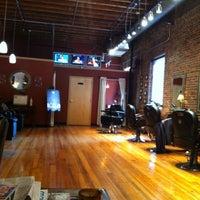 Photo taken at Men's Room Salon by Elsa D. on 8/13/2012