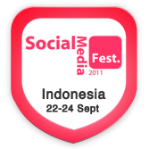 Photo taken at Indonesia Social Media Festival 2011 (SocMedFest) by PCholic on 9/21/2011
