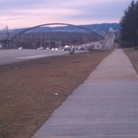 Photo taken at Wadsworth Pedestrian Bridge by Marty K. on 1/29/2012