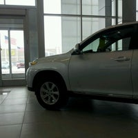 Photo taken at Le Mieux & Son Toyota by Neal G. on 2/10/2012