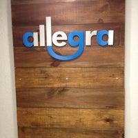 Photo taken at Allegra Models by Aye D. on 5/16/2012