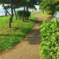 Photo taken at 暁ふ頭公園 by Yasuhiro I. on 9/18/2011