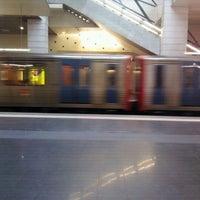Photo taken at Metro Pontinha [AZ] by Núria P. on 1/26/2012
