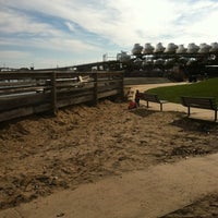 Photo taken at Veterans Park Aka The New Park by Trish M. on 11/27/2011