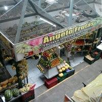 Photo taken at Mercado São Sebastião by Karyny N. on 9/10/2012