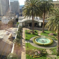 ... Photo Taken At Fairmont Hotel Roof Garden By Brian H. On 2/25/ ...