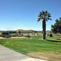 Photo taken at Muroc Lake Golf Course by Sean N. on 3/22/2012