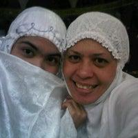 Photo taken at Masjid agung jambi by Rika R. on 8/14/2011