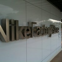 Photo taken at Nike Factory Store by Ry P. on 12/3/2011