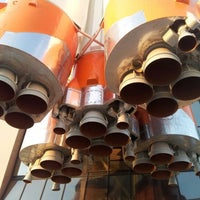Снимок сделан в Ракета-носитель «Союз» / Музейно-выставочный комплекс «Самара космическая» пользователем Dmitry P. 4/21/2012