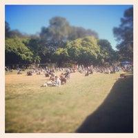 Photo taken at Davies Park Market by Ian K. on 7/28/2012