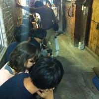 Photo taken at Mukshidonna by Sooyeon P. on 9/27/2011