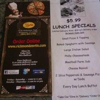 Photo taken at Zeytin's Pizza by Bunnie S. on 1/17/2012