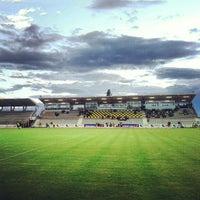 Foto scattata a Stadio Zaffanella da Luca 'Keeno' O. il 5/5/2012