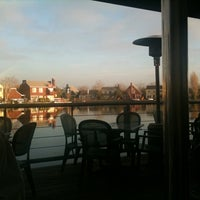 Photo taken at Waterfront Pizza by Aaron G. on 1/8/2011