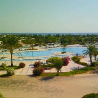 Photo taken at Sonesta Pharaoh Beach Resort by Ben Junior G. on 9/15/2011