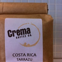 Photo taken at Crema Coffee by John T. on 2/22/2011