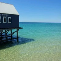Photo taken at Busselton Jetty by O'Shea G. on 11/22/2011