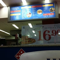 Photo taken at Domino's Pizza by Marcelo B. on 12/20/2011