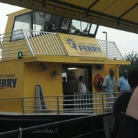 Photo taken at Liberty Landing Ferry by Frederic D. on 8/9/2012