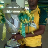 Photo taken at Young Africans Sports Club HQ by INNOCENT L. on 8/13/2012