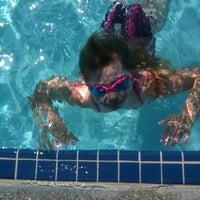 Photo taken at Sunriver South Pool by Julie V. on 8/27/2011