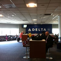 Photo taken at Terminal D (Delta Terminal) by Shawn B. on 4/29/2012