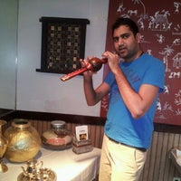 Photo taken at Bombay Bistro by Ranjeesh Y. on 1/7/2012