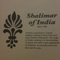 Photo taken at Shalimar of India by Jack F. on 6/23/2011