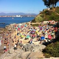 Photo taken at Playa Las Conchitas by Gustavo B. on 1/21/2012