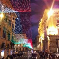 Photo taken at Via del Corso by Max V. on 1/1/2012