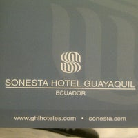 Photo taken at Hotel Sonesta by Karina R. on 7/14/2012