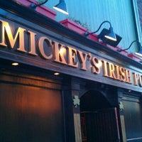 Photo taken at Mickey's Irish Pub by Petie C. on 8/18/2011