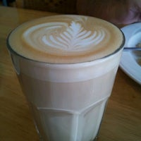Photo taken at Morning Glass Coffee + Cafe by nai n. on 11/19/2011